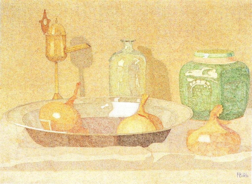 2. Hendricus Petrus Bremmer, Stilleven, 1896, olieverf op doek, Kröller-Müller Museum, Otterlo