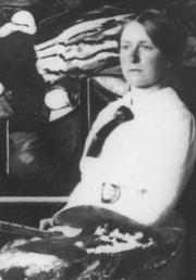 1. Foto van Jacoba van Heemskerck omstreeks 1900.