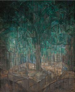 3. Jacoba van Heemskerck van Beest, Compositie nr. 6, ca. 1913, 100.5 x 120.5 cm, Museum Boijmans Van Beuningen, Rotterdam